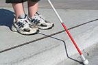 """Bald """"sehen"""" die vibrierenden Schuhe zum zu helfen blind zu machen ihre Weise"""