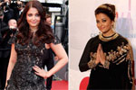 Aishwarya Rai on the Cannes red carpet in Sabyasachi, Elie Saab