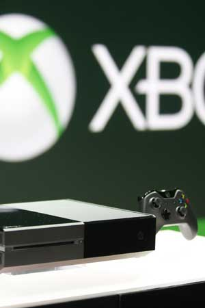 First Look of Microsoft Xbox One