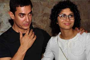 Aamir Khan's wife Kiran takes tips from him for debuting as film presenter