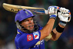 Brad Hodge produced a special knock to help his side home in New Delhi today.