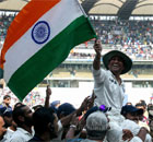 Sachin Tendulkar\'s final lap of honour