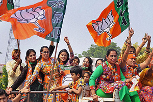 Haryana elections results: BJP celebrates as Narendra Modi juggernaut rolls over oppn