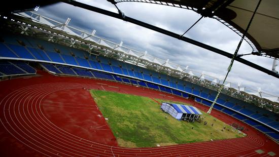 Commonwealth Games 2010 Venue Jawaharlal Nehru Complex