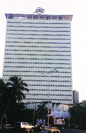 The Air India Building at Nariman Point, Mumbai