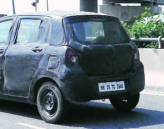 Maruti Suzuki New Small Car Yl7 Diesel Caught Under Wraps Zen