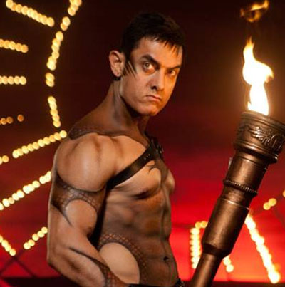 Aamir Khan's perfect abs in 'Dhoom 3'