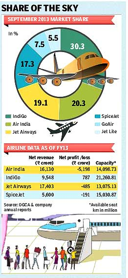Indian aviation sector-2013