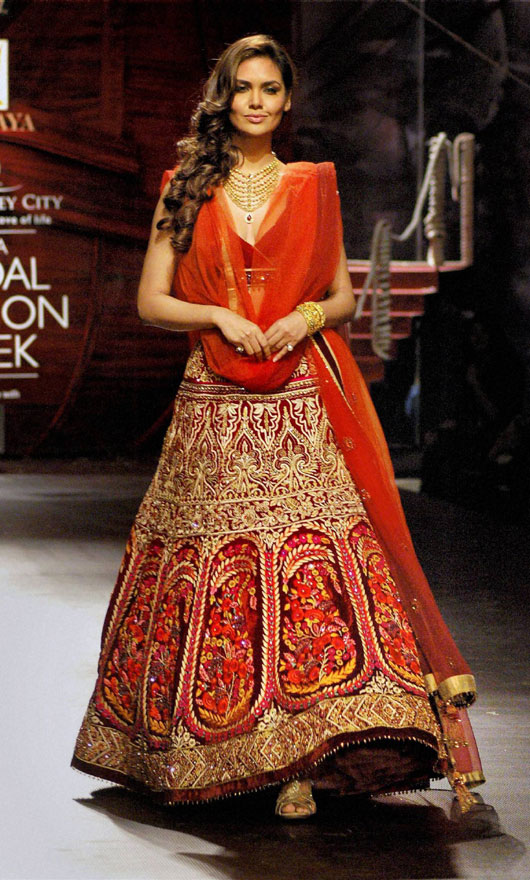 Bridal Fashion Show 2014 India Bridal Week