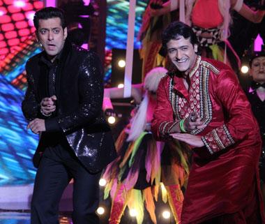 Salman,Armaan Kohli at Bigg Boss finale.